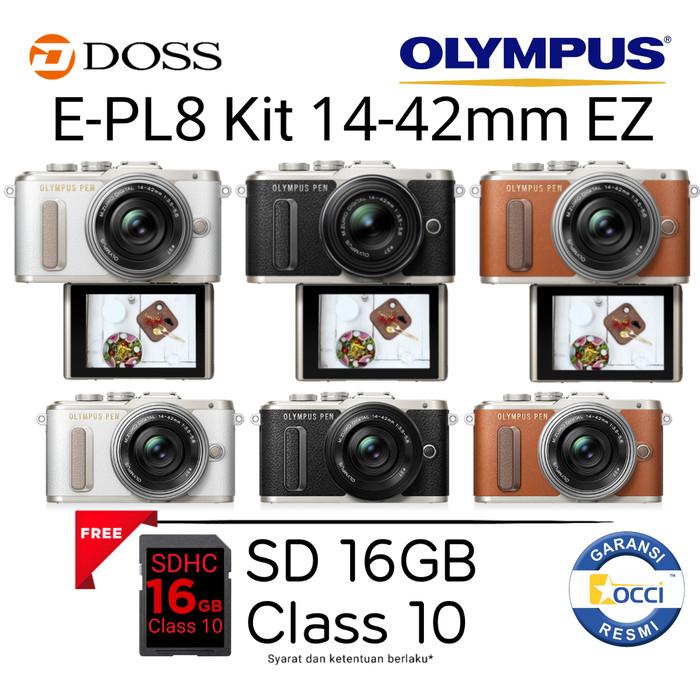 harga Olympus e-pl8 kit 14-42mm ez Tokopedia.com