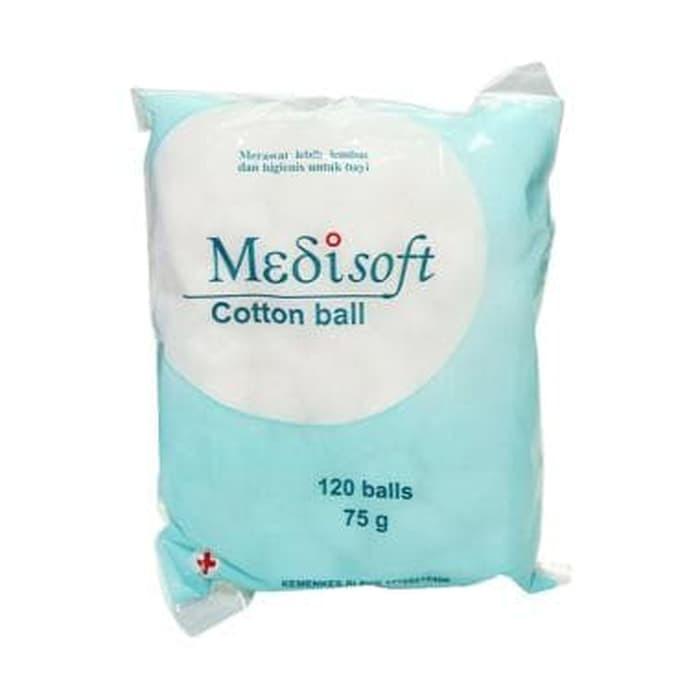 Foto Produk Medisoft Cotton Ball 75gr dari SusuMurahOnline.com