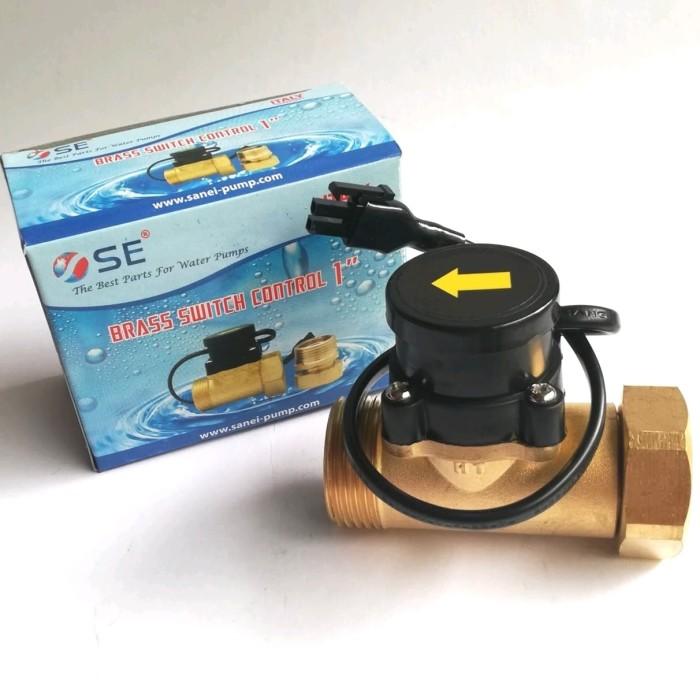 "harga Otomatis pompa booster / water flow switch (ukuran 1"" x 1"") Tokopedia.com"