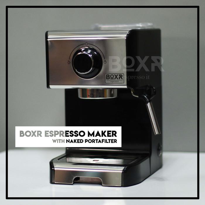 Jual BOXR Espresso Maker Mesin Kopi Espresso Machine