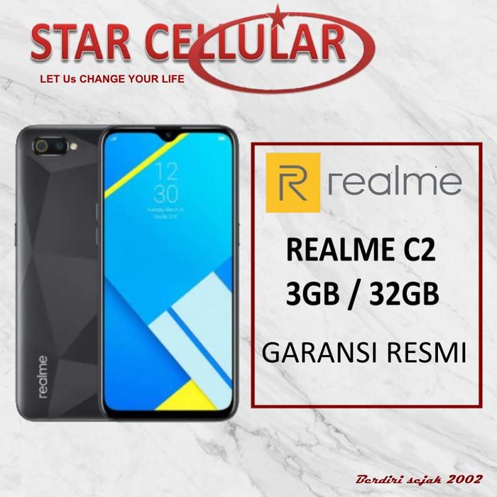harga Realme c2 3/32gb hitam - garansi resmi Tokopedia.com