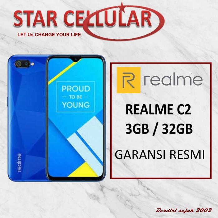 harga Realme c2 3/32gb biru - garansi resmi Tokopedia.com