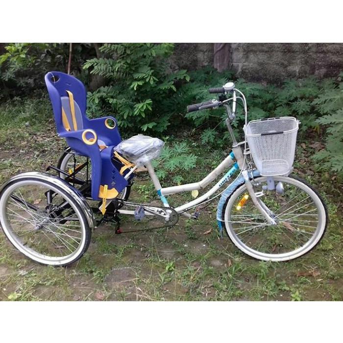Jual Sepeda Roda Tiga Dewasa Ch56 Jakarta Selatan Mc Gear Tokopedia