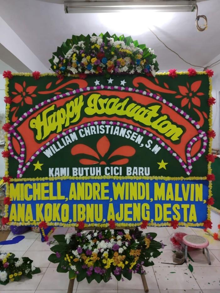 Jual Papan Bunga Wisuda Jakarta Barat Aconite Florist Tokopedia