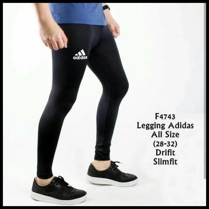 Jual Celana Legging Leging Training Pria Futsal Gym Fitness Kiper Olahraga Kab Bandung Cicintaa Shop Tokopedia