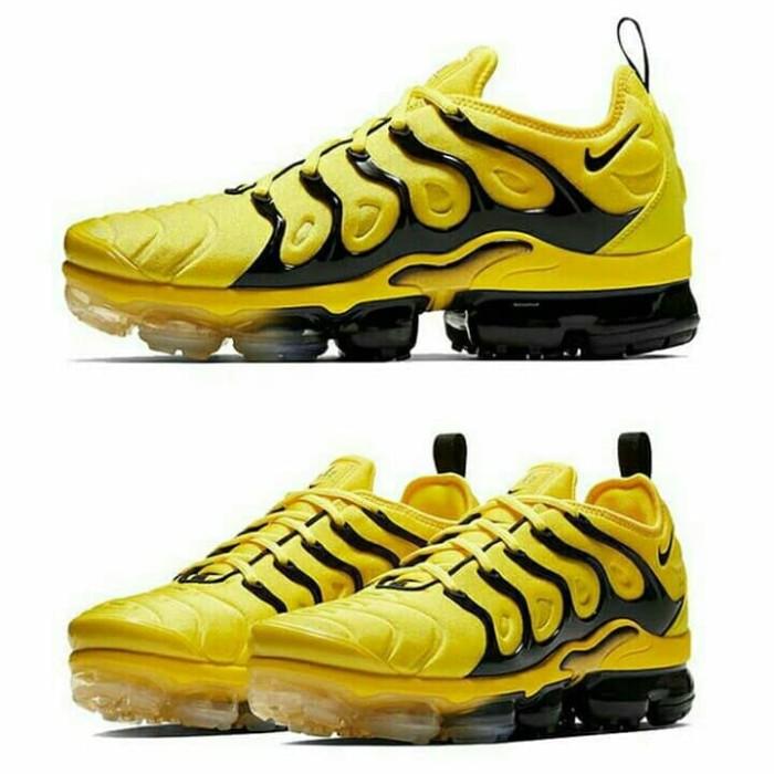 new style 7c52b 25f5a Jual Nike Vapormax Plus Yellow Black - DKI Jakarta - sapudy_sport    Tokopedia