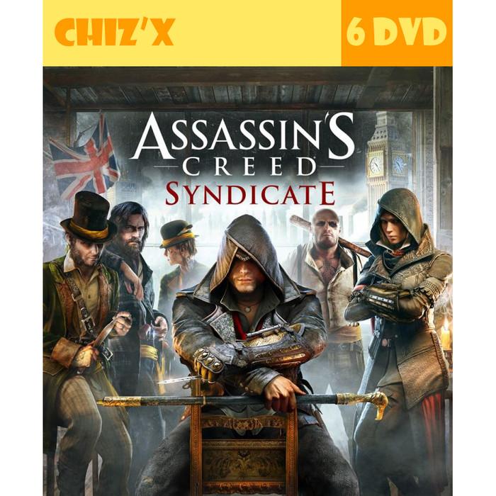 Jual Dvd Assassins Creed Syndicate Pc Unoriginal Kota Bandung