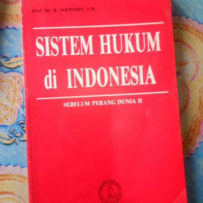 Foto Produk sistem hukum di indonesia ori sebelum perang dunia 2 dari ria tifara