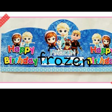 Jual Topi Ulang Tahun My Little Pony Princess Car Hello Kitty Frozen Spide Kota Bekasi Rumasa Tokopedia