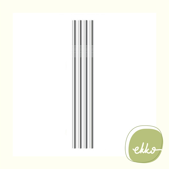 Jual Stainless Straw (straight) / Sedotan Stainless/Eco Friendly Zero Waste  - Jakarta Barat - Ekko Store | Tokopedia