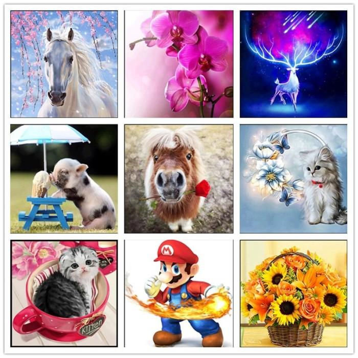 96 Koleksi Gambar Kartun Hewan Dan Bunga HD Terbaik
