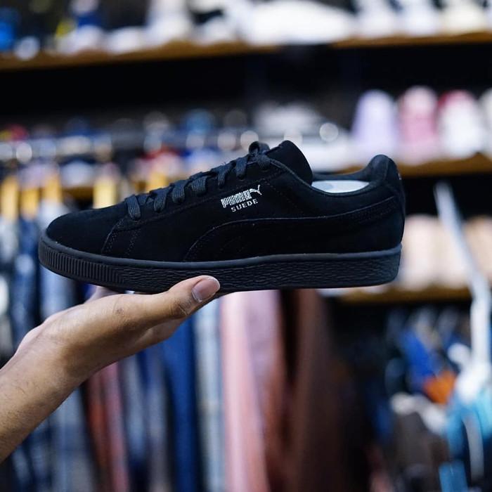 huge discount a59ef a7695 Jual PUMA Suede Classic Black Dark Shadow BNIB, (352634-77) 100% Original -  Kota Bekasi - quinnsneakers | Tokopedia