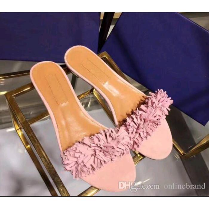 Foto Produk sandal teplek rumbai duo - Salem, 37 dari efraim shoes