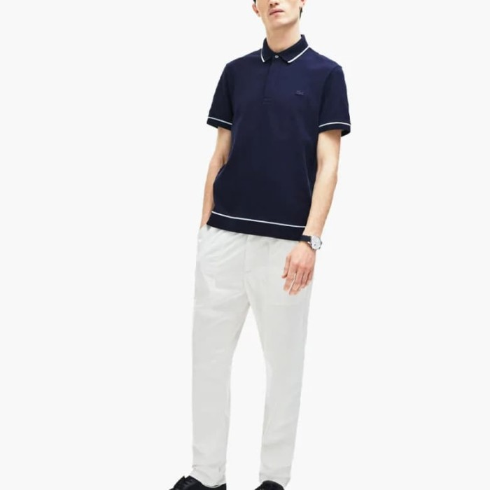 646e3b6568 Jual Men'S Lacoste Regular Fit Piped Stretch Cotton Mini Piqué Polo Shirt -  Kota Tangerang - Zidan original | Tokopedia