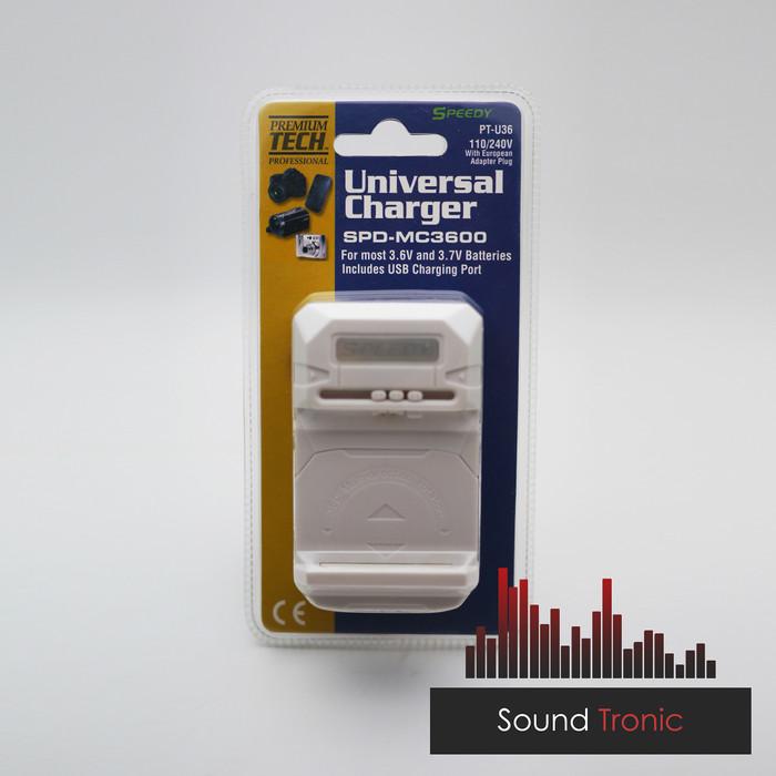 Foto Produk Charger Desktop USB Kodok Universal Speedy MC-3600 dari SoundTronic