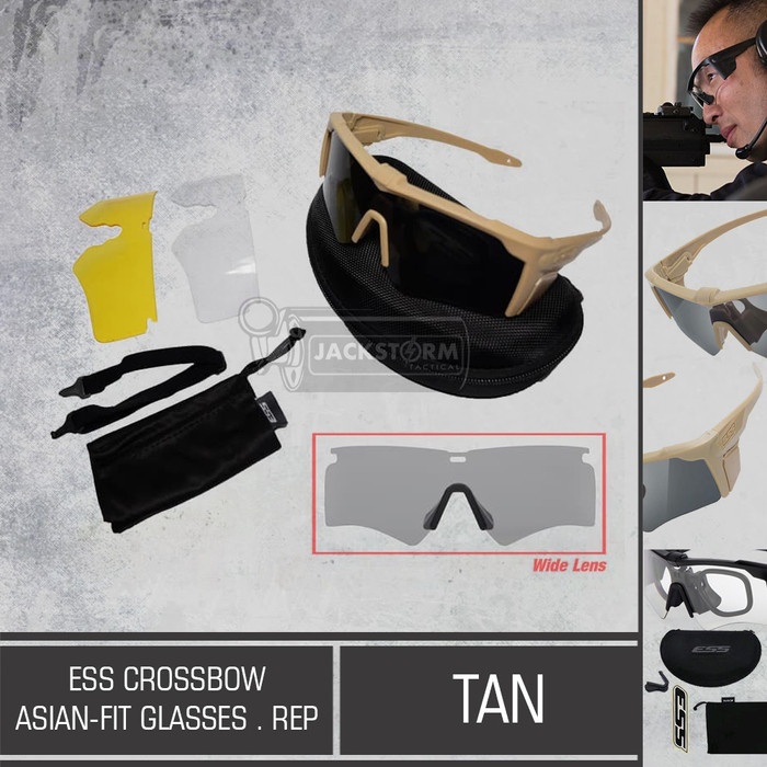 harga Ess crossbow asian fit (rep.) tan Tokopedia.com