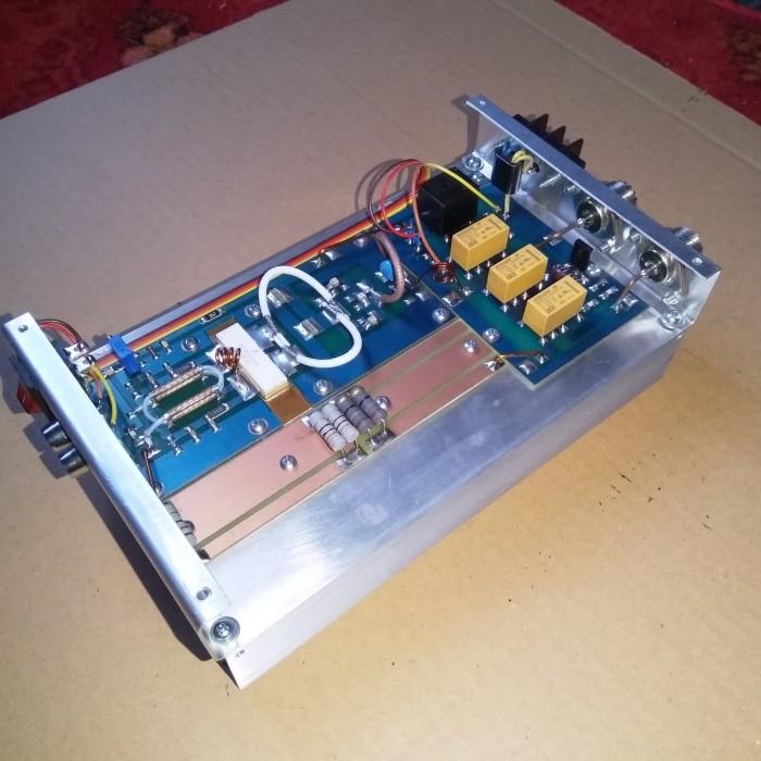 Jual vhf booster rf linear power amplifier 2m band ht rig radio komunikasi  - Kota Bekasi - SETYAFM | Tokopedia