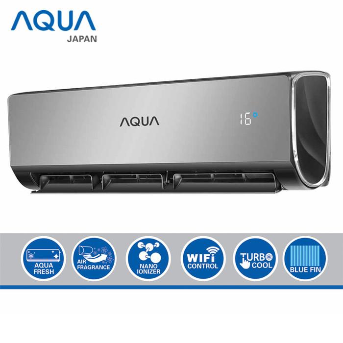 harga Aqua ac inverter nebula 1 pk wifi - aqa-kcrv9wjw Tokopedia.com