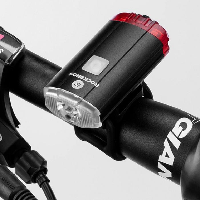 Foto Produk Lampu Sepeda USB Charging ROCKBROS Bisa Untuk Lampu Helm dari Lapak Grosir Briyan ASC