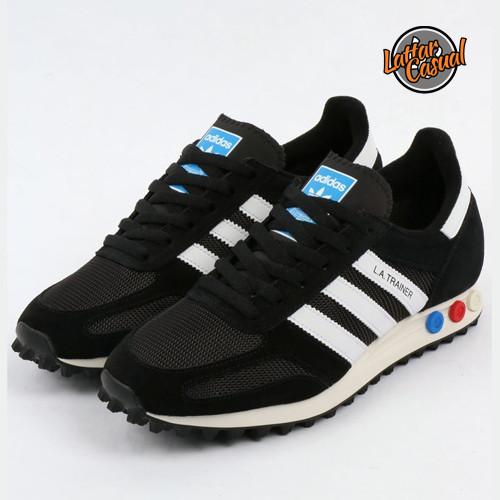 adidas la trainer black black