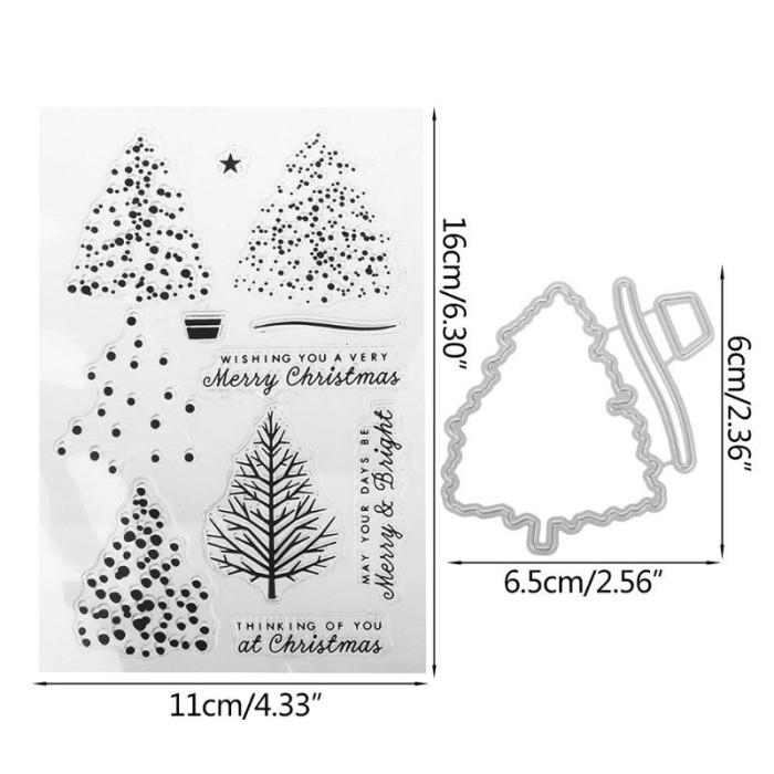 Jual Terbaru Diy Stensil Jenis Cutting Dies Dengan Gambar Pohon Natal Untu Jakarta Timur Microplus Shop Tokopedia