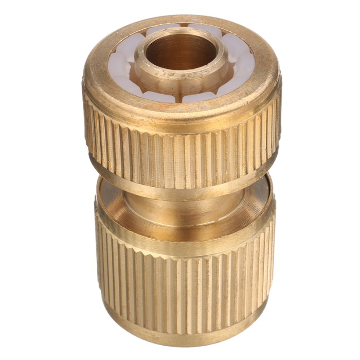 """4pcs Garden Hose Quick Connector 1//2/"""" Female Pipe Auto Stop Watering Hose"""