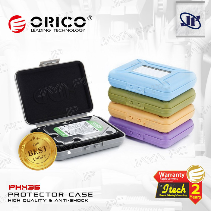 "Foto Produk Orico PHX-35 Harddisk HDD 3.5"" Case External Protection/ Protector Box dari Jaya PC"