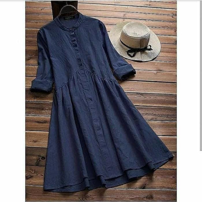 Foto Produk Lania tunic wd / pakaian wanita / fashion wanita / atasan wanita murah dari Senshi group store bdg