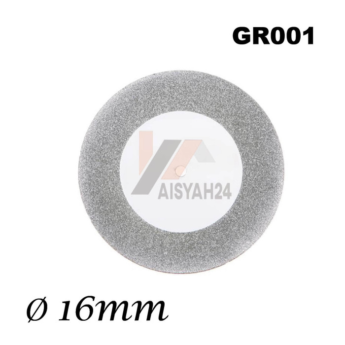 Foto Produk 16mm Mata Gerinda Diamond untuk Mini Grinder Wheel Cutting Disc dari Toko Aisyah24