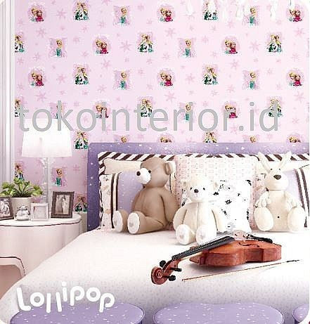 Jual Wallpaper Dinding Anak Perempuan Motif Frozen Pink Ll Jakarta Pusat Suprereme Tokopedia