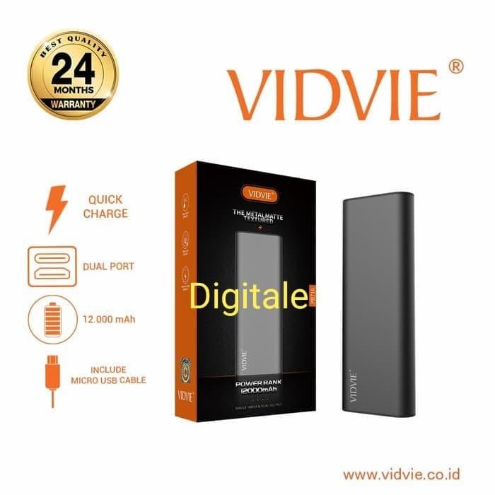 Foto Produk Powerbank Vidvie PB716 12000 MAH dari DigitalE-