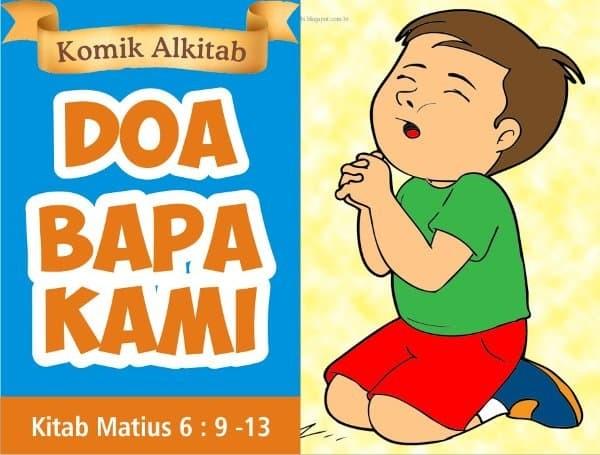 Jual Promo Buku Komik Cerita Alkitab Anak Kristen Sekolah Minggu Doa Bapa Jakarta Selatan Tokopolaris33 Tokopedia