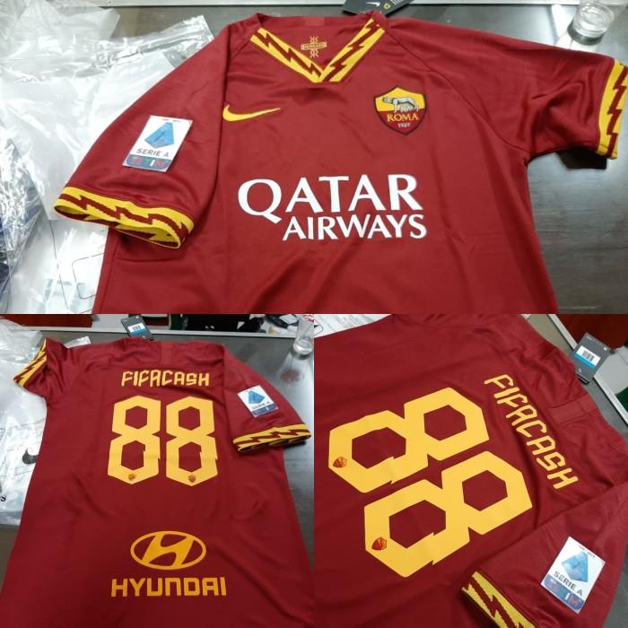 Jual Jersey Baju Bola As Roma Home 2019 2020 Fullpatch Serie A Nameset Gr Jakarta Selatan Lingfach Jersey Tokopedia