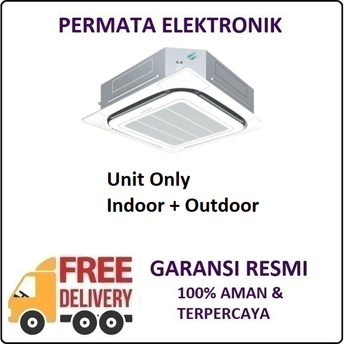 harga Daikin fcrn71fxv14 ac cassette 3 pk 4way non inverter malaysia r410 Tokopedia.com