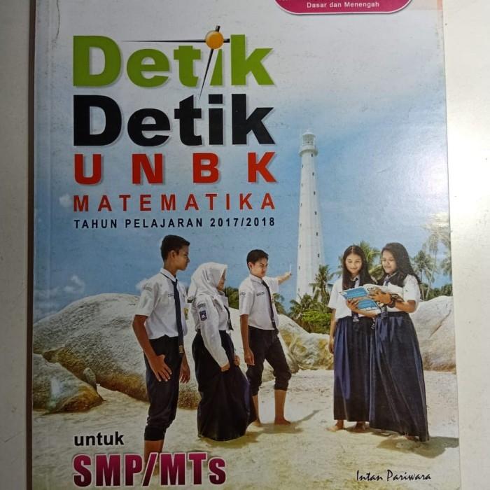 Jual Paket Detik Unbk Smp 2017 2018 4 Buku Dan Kunci Jawaban Kab Bandung Starleto Tokopedia