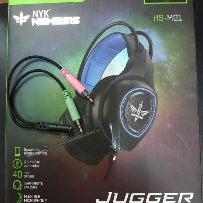 Foto Produk Nyk Jugger HS-M01 Headset Gaming for Smartphone & PC dari CS New