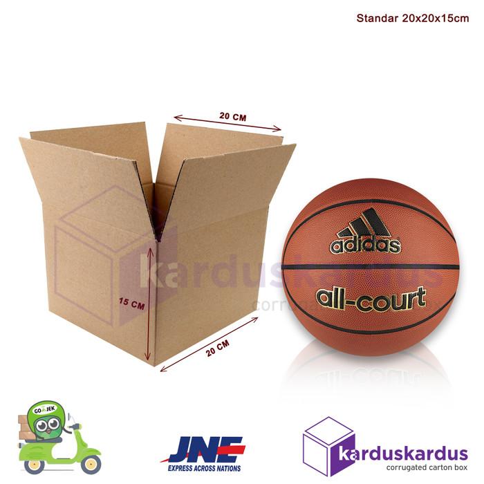 Foto Produk Kardus - Karton - Box Polos - 20x20x15 dari karduskardus