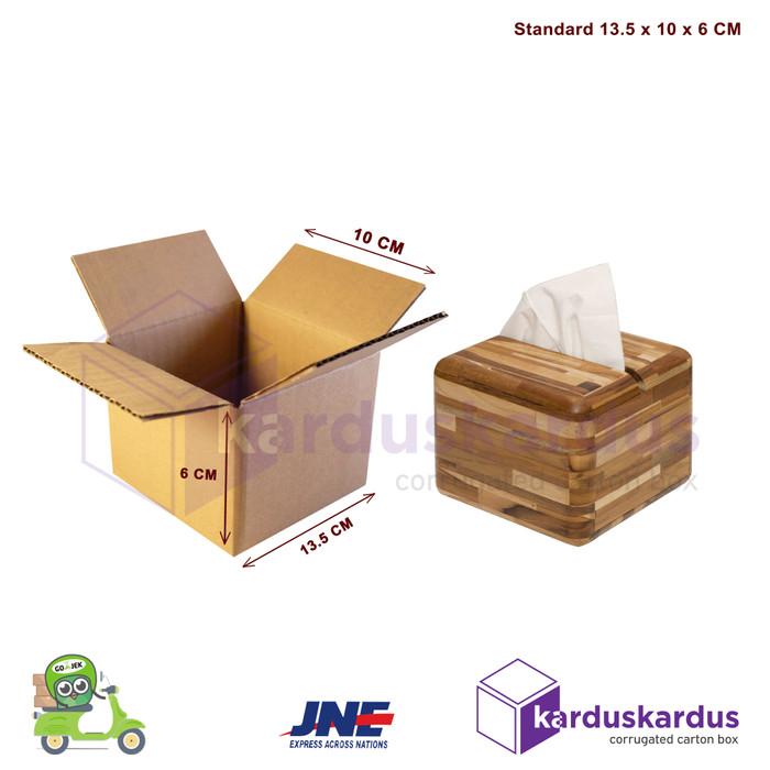 Foto Produk Kardus - Karton - Box Polos - 13.5x10x6 dari karduskardus