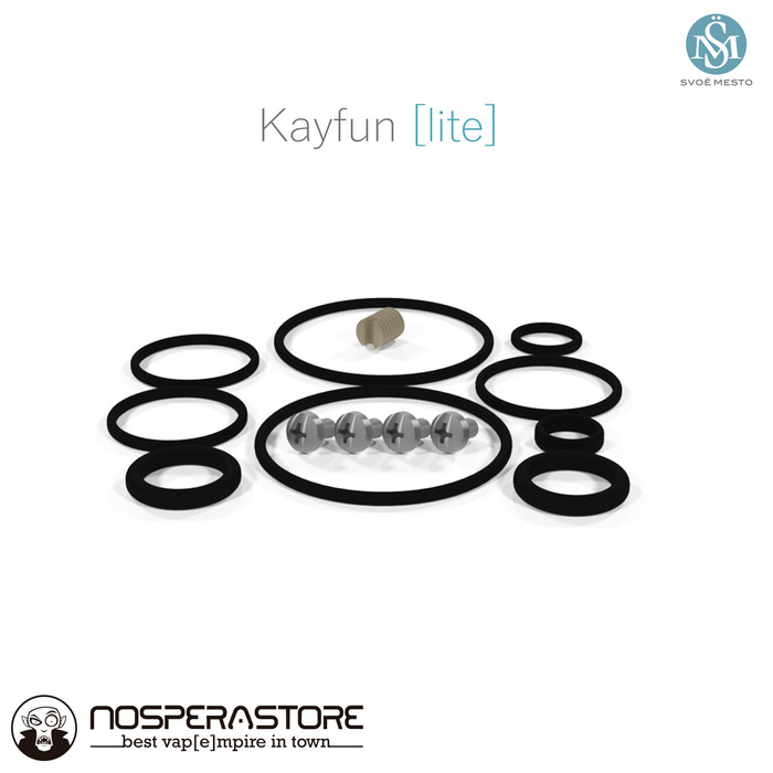 Foto Produk Kayfun Lite 2019 - Spare Kit - Authentic dari nosperaStoRe