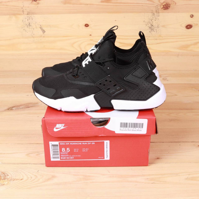 Jual Sepatu Nike Huarache Drift Black White Premium BNIB Sneakers Pria - Kota Bandung - WANFAR   Tokopedia