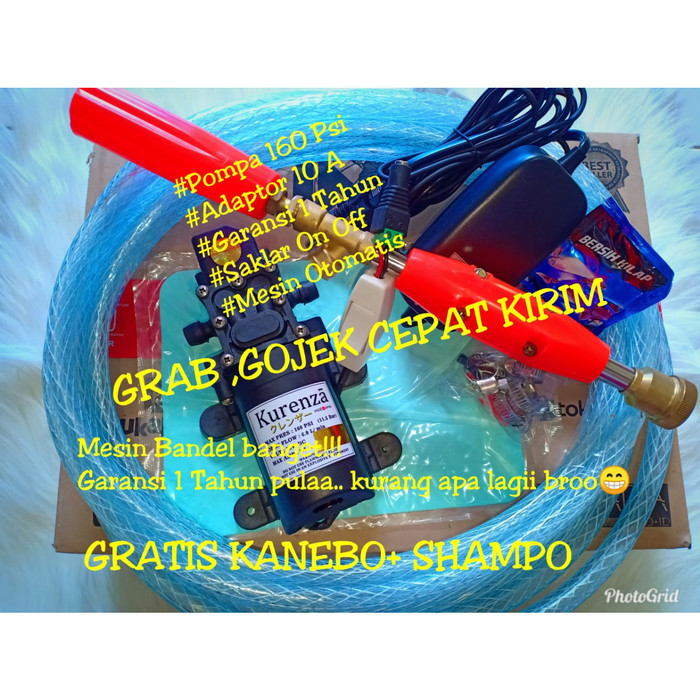 harga Set lengkap mesin power sprayer alat cuci ac motor mobil steam Tokopedia.com