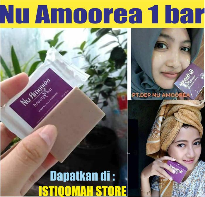 Foto Produk Nu Amoorea Sabun untuk Mengatasi Jerawat yang Parah, Komedo Asli BPOM dari Istiqomah-Store