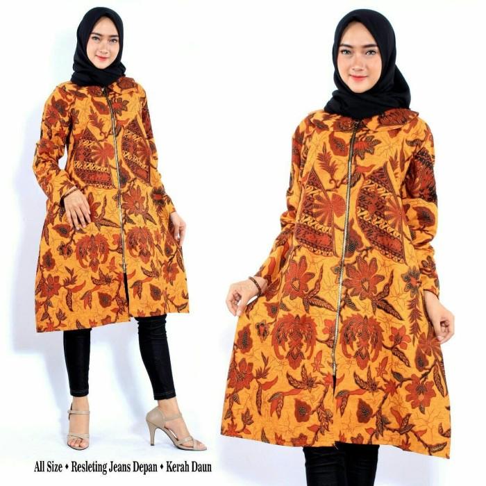 Jual TUNIK BATIK DRESS BATIK MODERN KERJA KANTORAN KULIAH KEKINIAN TUNIC -  Kota Pekalongan - Aneka Batik Modern | Tokopedia