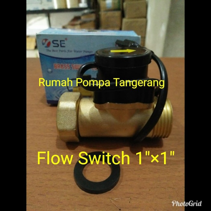harga Water flow switch sanei ukuran drat 1 inch Tokopedia.com