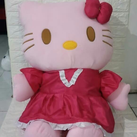 harga Boneka hello kitty jumbo dress Tokopedia.com