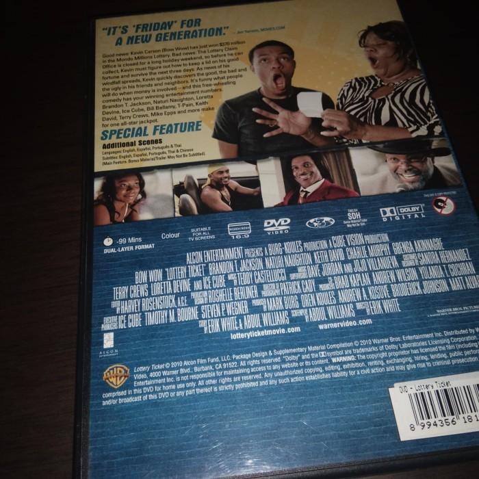 Jual DVD Film Original Lottery Ticket - Jakarta Utara - Free as a Store |  Tokopedia