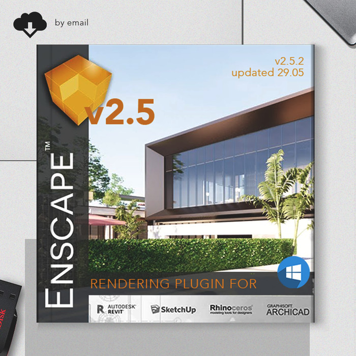 Jual Enscape 3D for Revit SketchUp Rhino ArchiCAD Rendering Win x64 - Kota  Bekasi - Kanahaya's Shop   Tokopedia