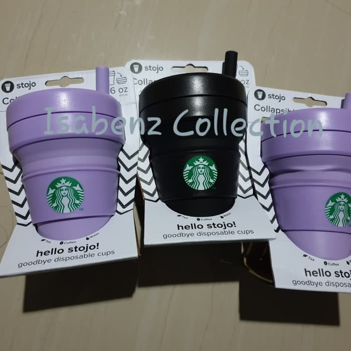 cb18a3433ad Jual STARBUCKS STOJO COLLAPSIBLE CUP - READY - Hitam - Jakarta Utara -  Isabenz Collection | Tokopedia