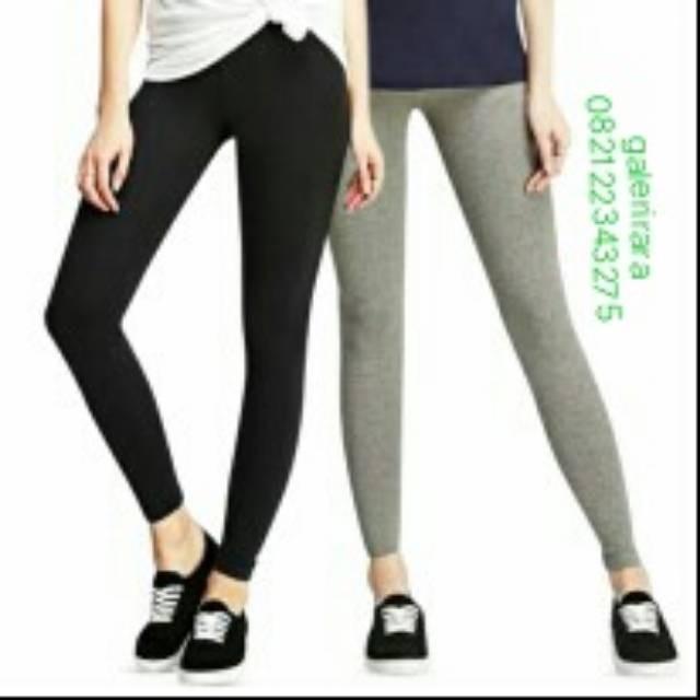 Jual Celana Legging Panjang Wanita Bahan Kaos Rayon Jakarta Barat Bisniscollec Tokopedia