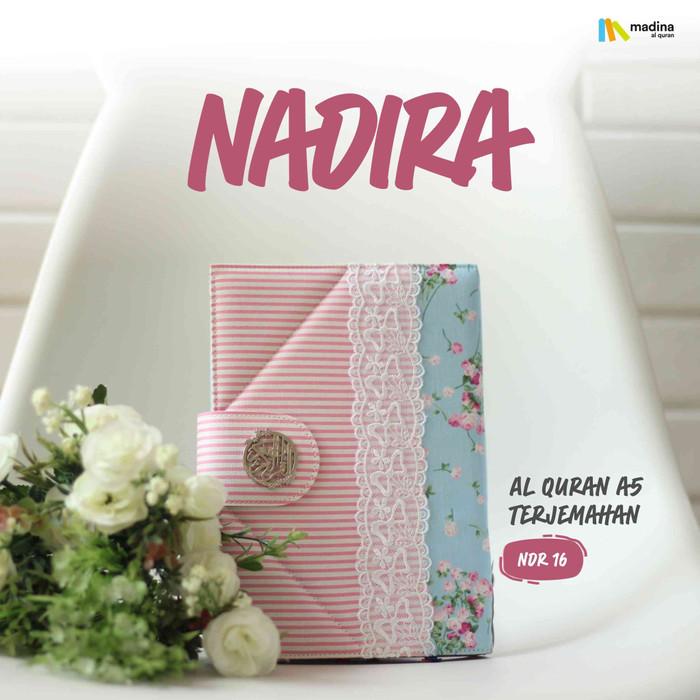 harga Al quran / alquran rainbow pelangi nadhira madina terjemahan ukuran a5 Tokopedia.com